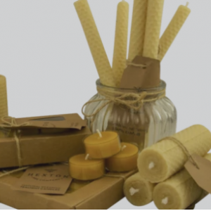 Hexton 100% Beeswax Candles